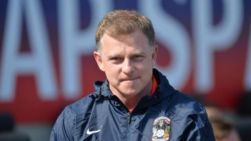 Mark Robins is manager at the Ricoh
